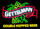 Gettelman Double Hopped Beer Illuminated Sign