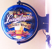Leinenkugel's Sunset Wheat Rotating Illuminated Pub Light