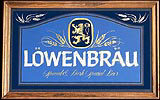 Lowenbrau Special and Dark Special Beer Bar Mirror