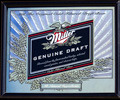 Miller Genuine Draft MGD 1998 Bar Mirror