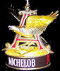 Michelob 3D Eagle Illuminated Rotating Vintage Bar Sign