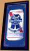 Pabst Blue Ribbon Beer 2007 NEW OLD STOCK Bar Mirror
