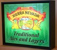Sierra Nevada Illuminated Glass Sign