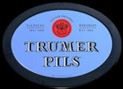Trumer Pils Beer Berkeley, CA - Salzburg, Austria NEW Oval Bar Mirror