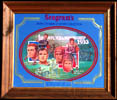 Seagram's Seven Crowns of Sports Collection The 1st NFL Title Game Mirror