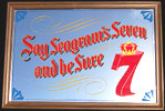 Seagram's 7 Classic Vintage Bar Mirror