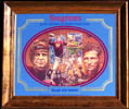 Seagram's Seven Crowns of Sports Collection - Baugh & Hutson Football Mirror