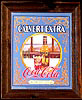 Calvert Extra American Whiskey and Coca-Cola Vintage Bar Mirror