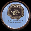 Old Grand Dad 114 Proof Kentucky Bourbon Whiskey Vintage Barrel Mirror