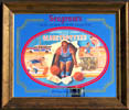 Seagram's Seven Crowns of Sports Collection Harlem Globetrotters Mirror