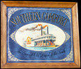 Southern Comfort Large Vintage Riverboat Bar Mirror