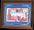 Seagram's Seven Crowns of Sports Collection - St Louis Cardinals, The Gashouse Gang Vintage Baseball Bar Mirror