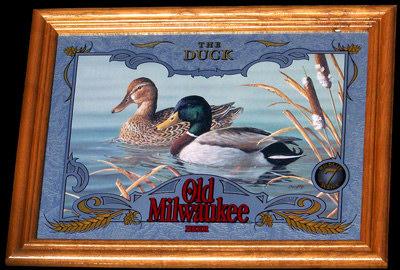Old Milwaukee Ducks Wildlife Mirror
