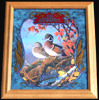 Old Milwaukee Wood Duck Wildlife Reflective Glass Plaque