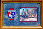 Heileman's Old Style 1993 Ring-necked Pheasant Wildlife Mirror