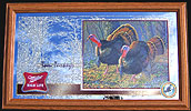 Miller High Life Tom Turkey NEW Wildlife Mirror