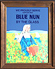 Blue Nun German Wine Served by the Glass Vintage Bar Mirror