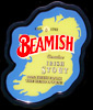 Beamish Irish Stout Ireland Shaped New Bar Mirror