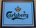 Carlsberg Beer Large Bar Back Mirror