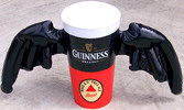 Guinness & Bass Winged Glass Inflatable