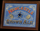 Newcastle Brown Ale New Old Stock Vintage Bar Mirror