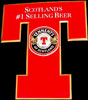 Tennent's of Scotland Scottish Beer Tin Sign